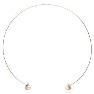 abracadabra rose pearl chocker